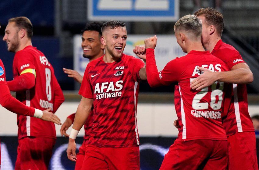 AZ Alkmaar vence a segunda seguida na Eredivisie