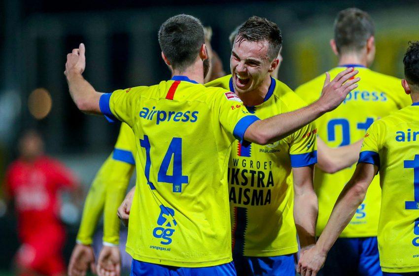 Na disputa pela liderança, SC Cambuur vence o Almere City por 7 a 2