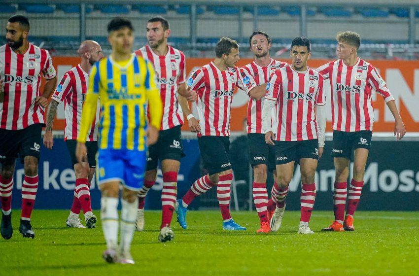 No confronto dos desesperados, Sparta Rotterdam leva a melhor e bate o RKC Waalwijk por 2 a 0