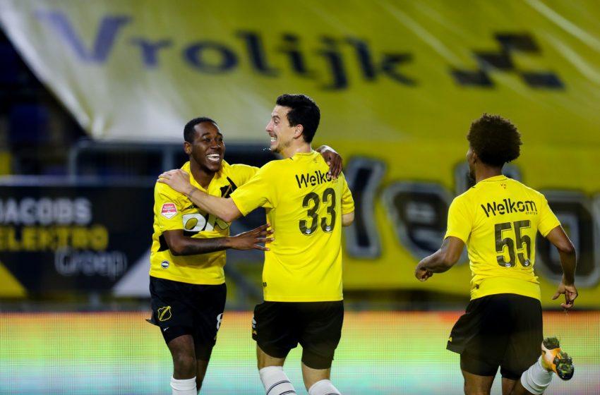 Jethro Mashart sai do banco e salva NAC Breda de um tropeço diante do SC Telstar