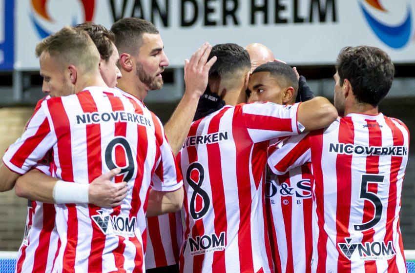 Sparta Rotterdam vence FC Emmen com lindo gol de Abdou Harroui