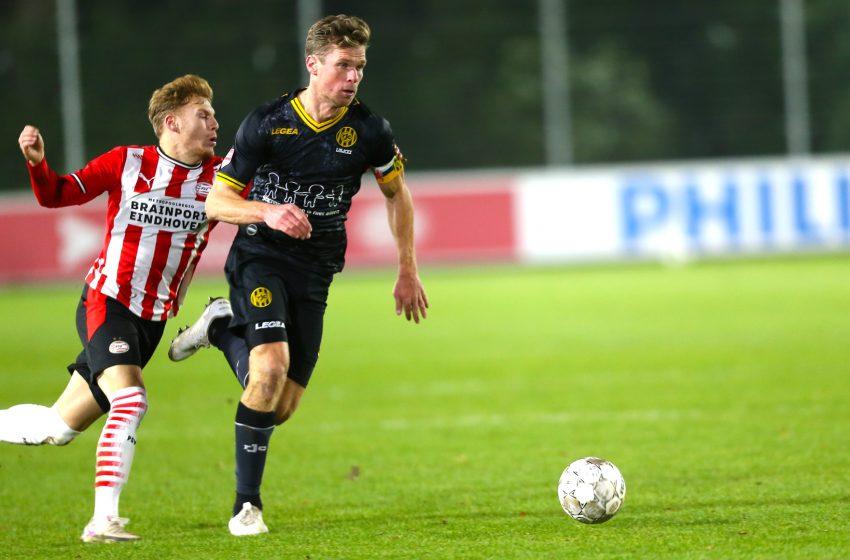 Jong PSV e Roda JC ficam no empate em 1 a 1