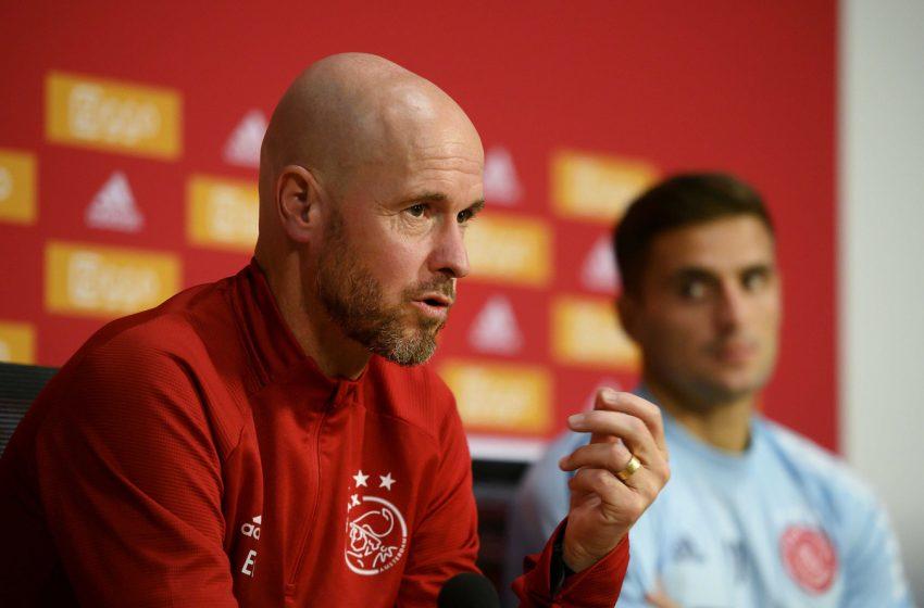 Erik ten Hag com cinco problemas para escalar o Ajax diante da Atalanta