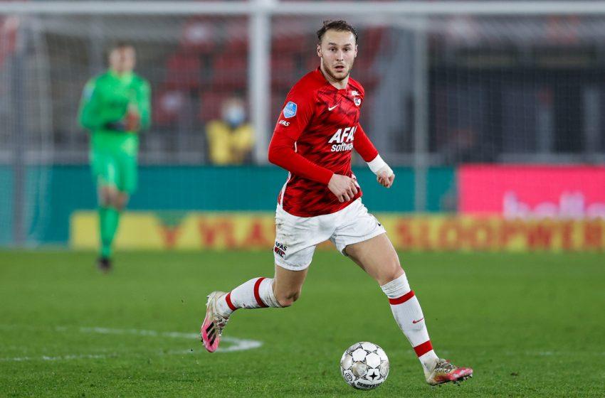 Pascal Jansen poderá contar com Teun Koopmeiners contra o Ajax