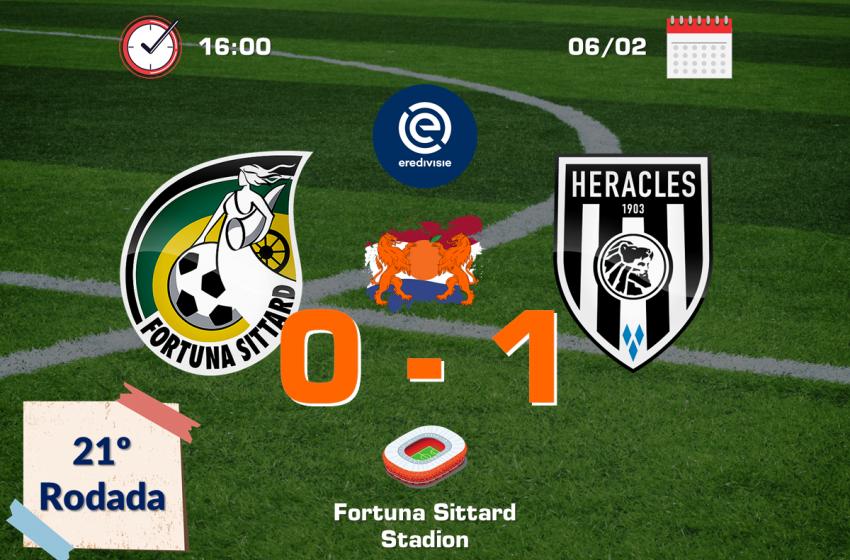 Heracles volta a vencer o Fortuna Sittard fora de casa após 16 anos