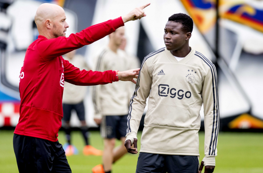 Ajax empresta Hassane Bandé a clube croata