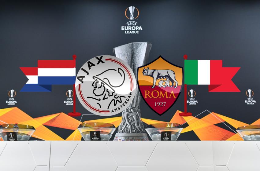 Após 18 anos, Ajax reencontrará AS Roma nas quartas de finais da UEFA Europe League