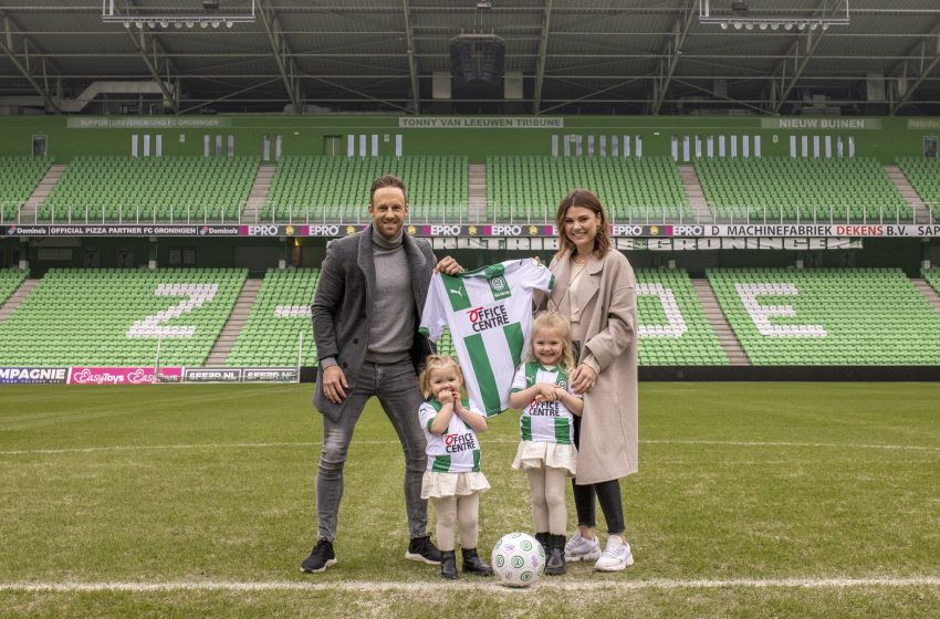 Bart van Hintum assina por mais uma temporada com o FC Groningen