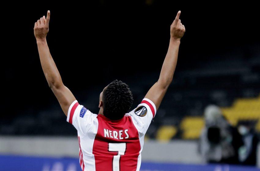 Ajax garante vaga nas quartas de final da Liga Europa