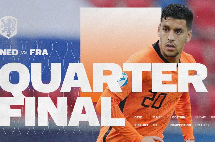 França U21 será o adversário da Holanda U21 nas quartas de finais da Eurocopa U21