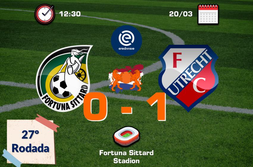 Dalmau entra na segunda etapa e garante vitória do FC Utrecht
