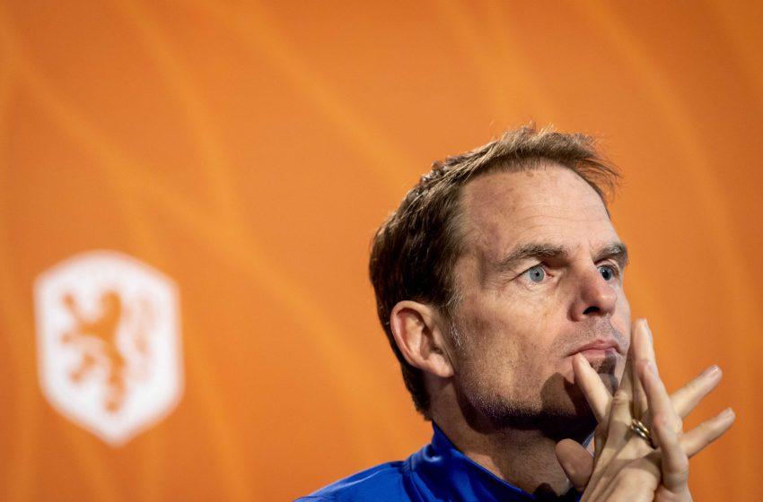 Frank de Boer comenta recuperação de Virgil van Dijk e a não convocação de Wout Weghorst