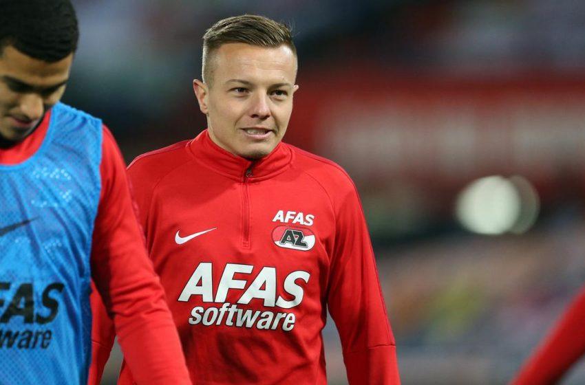 Jordy Clasie renova com o AZ Alkmaar por mais três temporadas