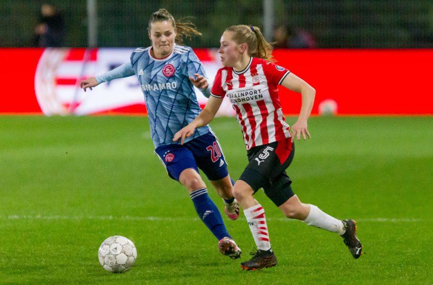 Equipe feminina do PSV entra em quarentena
