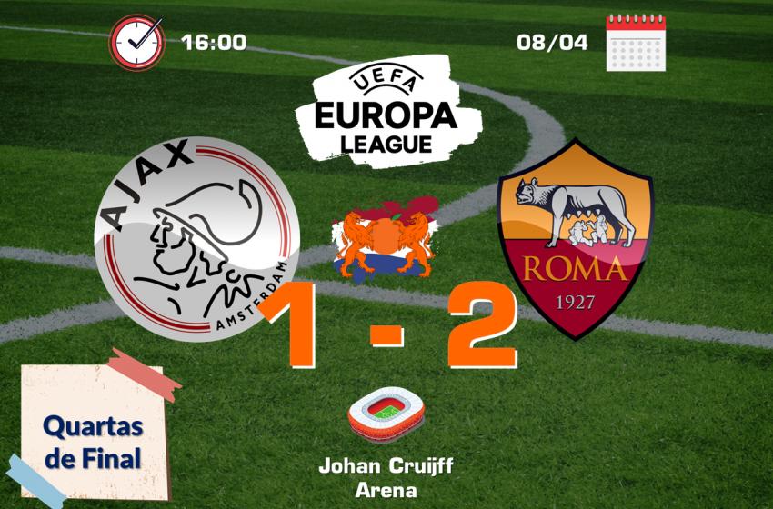 Ajax tem mais uma noite europeia frustrante