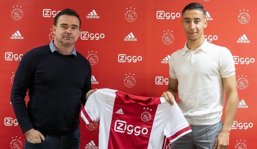 Ajax renova contrato de Anass Salah-Eddine por mais duas temporadas