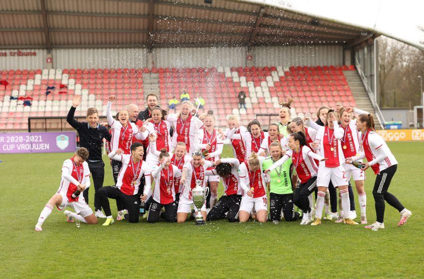Ajax vence FC Twente no sufoco e garante título da Eredivisie Cup Feminina