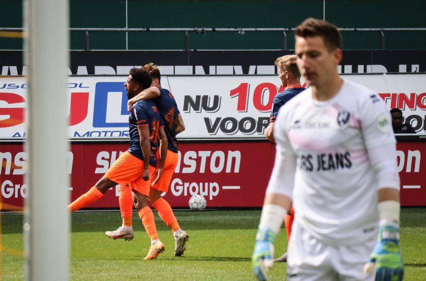 Fortuna Sittard vence ADO Den Haag por 3 a 0, se garante na Eredivisie para a próxima temporada e afunda ADO Den Haag na lanterna