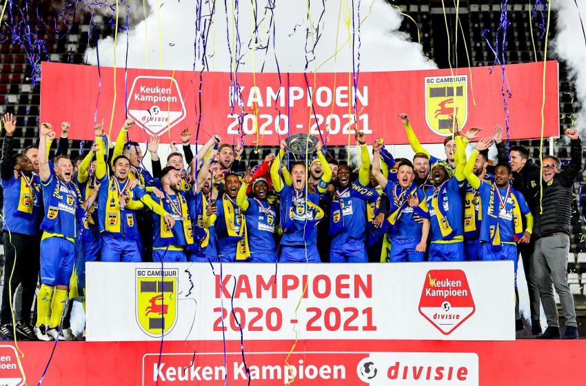 SC Cambuur vence Jong AZ Alkmaar por 4 a 2 e garante o título da Keuken Kampioen Divisie 2020/21