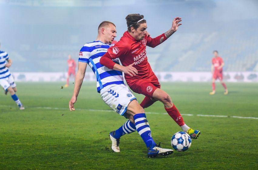 Almere City FC sofre gol do empate nos acréscimos e segue sem vencer o De Graafschap no De Vijverberg