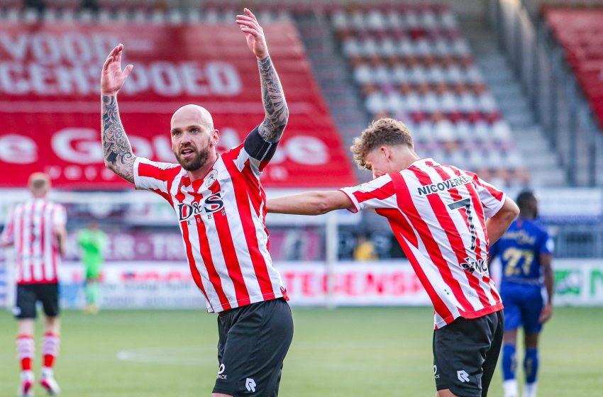 Sparta Rotterdam vence VVV-Venlo por 2 a 0 e se garante na Eredivisie para a próxima temporada