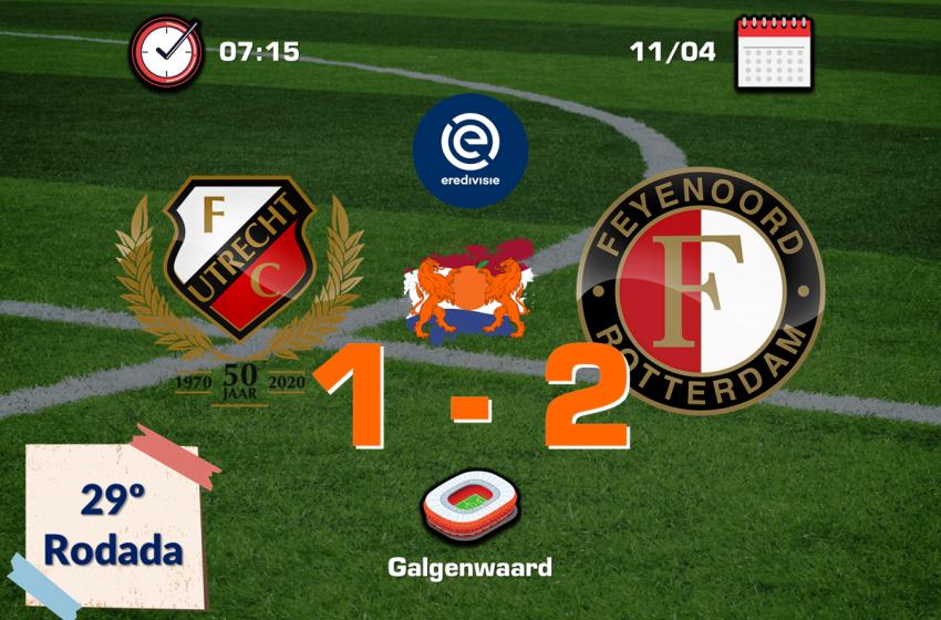 Steven Berghuis salva Feyenoord de mais um tropeço fora de casa