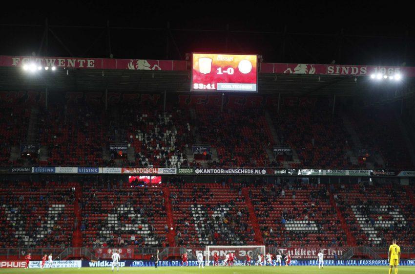 A partida entre FC Twente e FC Utrecht receberá 4 mil torcedores