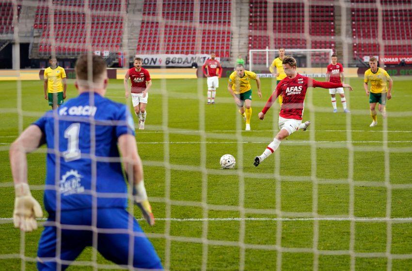 AZ Alkmaar vence Fortuna Sittard no AFAS Stadion pelo placar mínimo