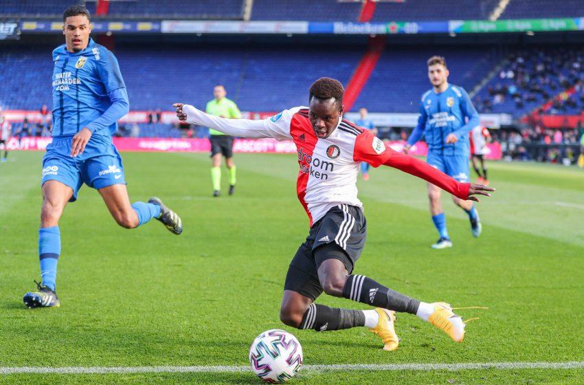 Aliou Baldé desfalcará Feyenoord na reta final dessa temporada