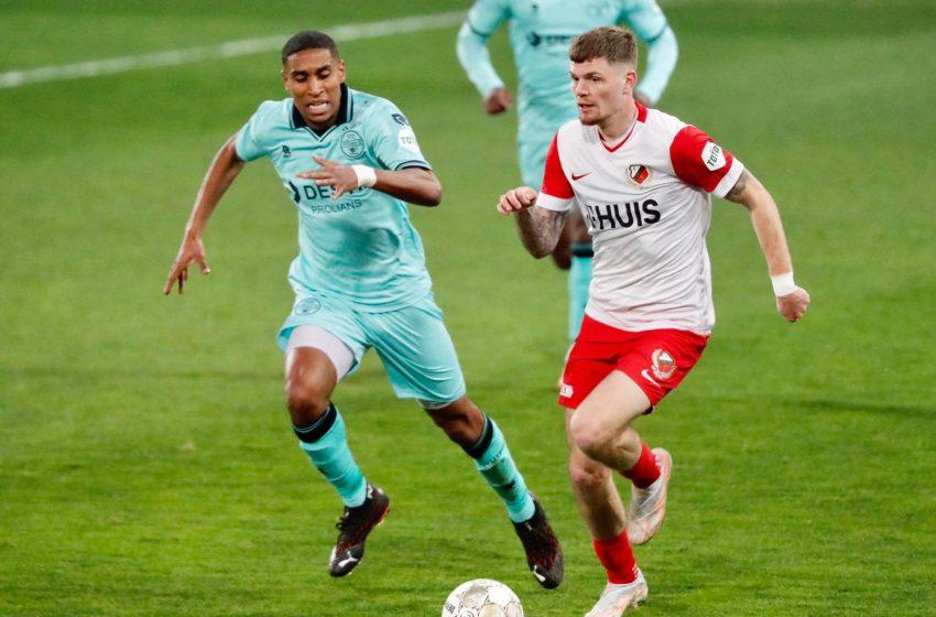 FC Utrecht confirma favoritismo, mas vence Willem II por placar apertado