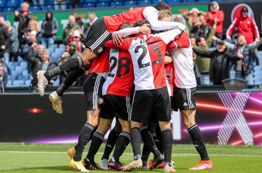 Feyenoord mostra superioridade e vence FC Utrecht por 2 a 0