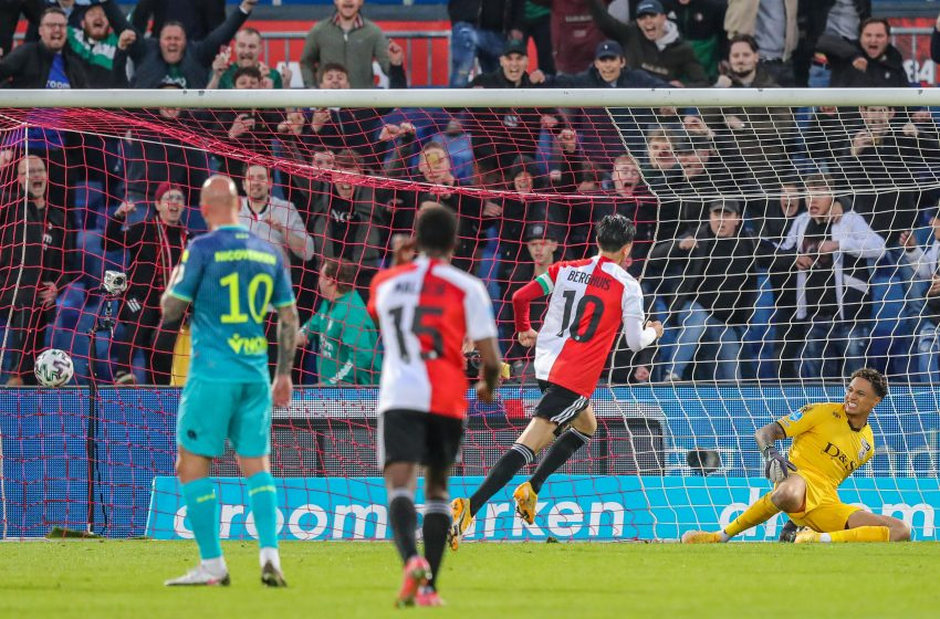 No clássico de Roterdã, Feyenoord leva a melhor e elimina o Sparta Rotterdam da Europese Tickets Eredivisie
