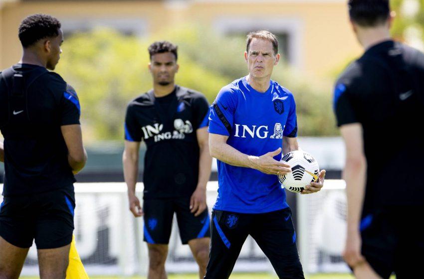 Holanda realiza primeiro treinamento em Portugal
