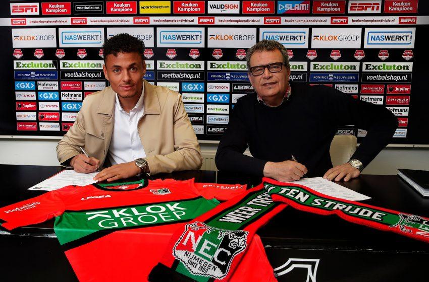 Ilias Bronkhorst é o primeiro reforço do NEC Nijmegen