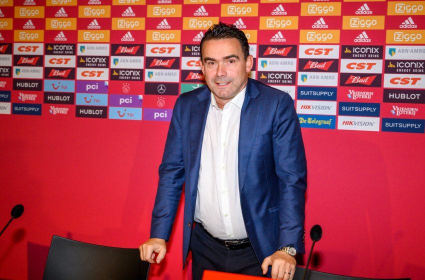 Marc Overmars deverá renovar contrato com o Ajax em breve