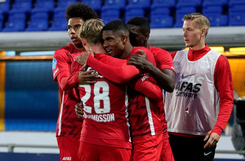 AZ Alkmaar vence RKC Waalwijk fora de casa de virada por 3 a 1