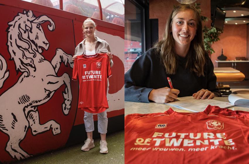 Suzanne Giesen e Anna-Lena Stolze renovam por mais uma temporada com o FC Twente
