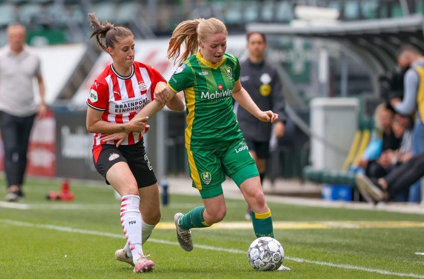 Mudanças no formato da Eredivisie Feminina
