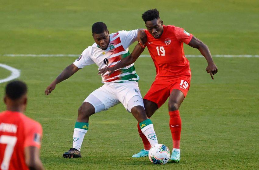 Alphonso Davies brilha e Canadá elimina Suriname das Eliminatórias para a Copa do Mundo de 2022