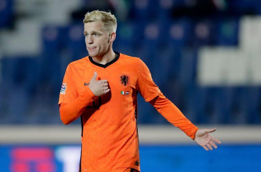 Donny van de Beek é cortado da Eurocopa