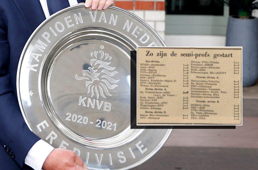 Jogos históricos irão abrir a 65ª edição da Eredivisie