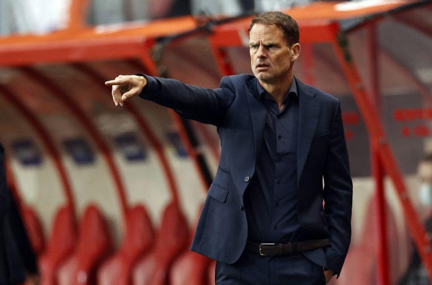 Frank de Boer gosta da atuação da Holanda diante da Geórgia