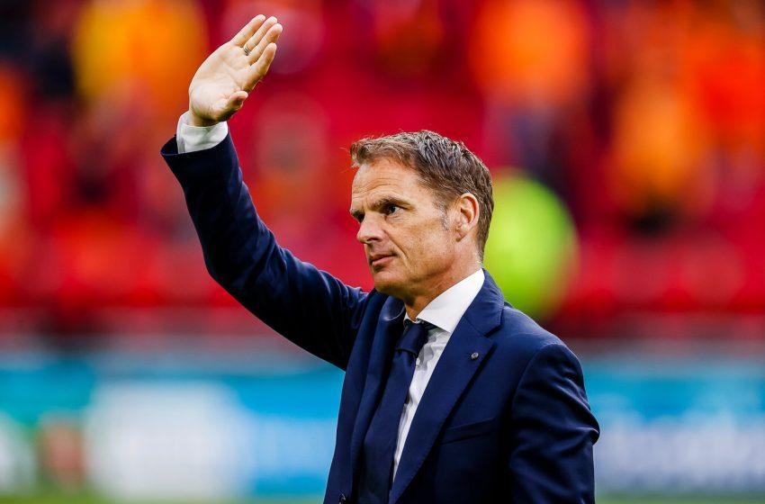 Frank de Boer se mostra satisfeito com desempenho da Holanda e deixa porta aberta para mudanças na equipe