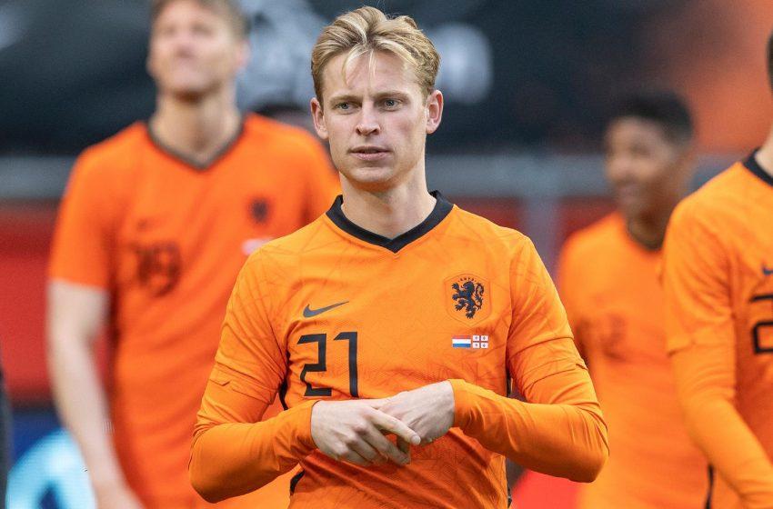 Frenkie de Jong se diz confiante para a estreia da Holanda na Eurocopa