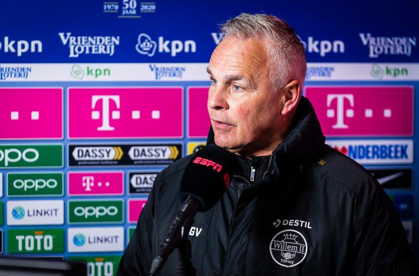 Willem II não renova contrato de auxiliar técnico, Gery Vink
