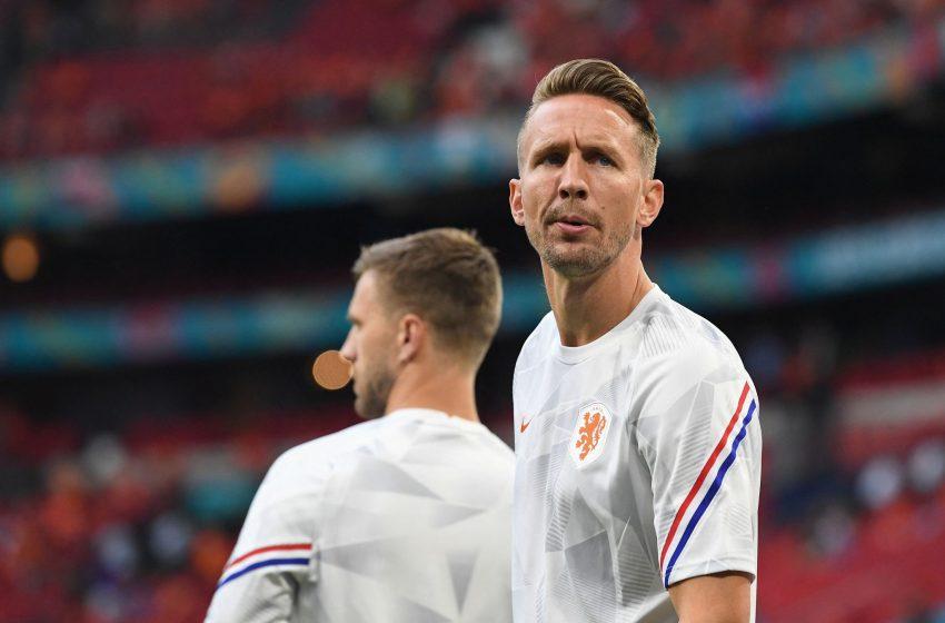 Luuk de Jong cortado da Eurocopa