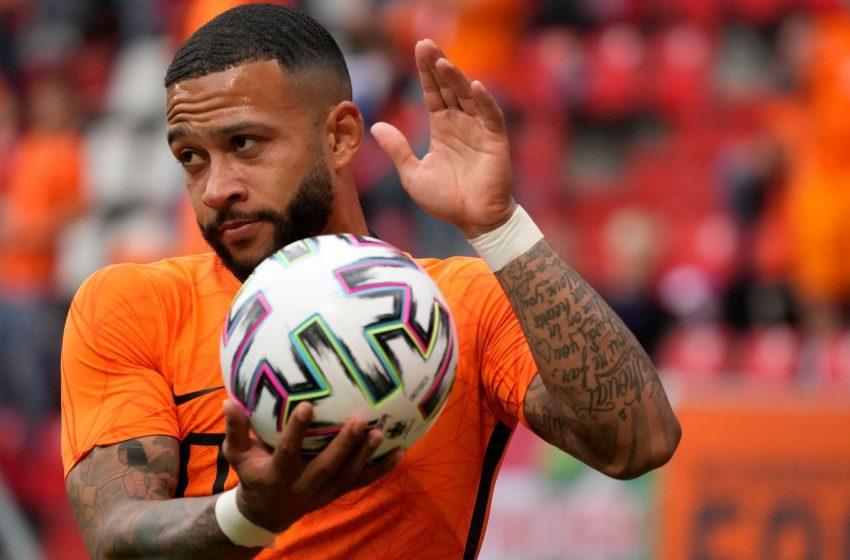 Memphis Depay minimiza baixo rendimento da Holanda em empate contra a Escócia