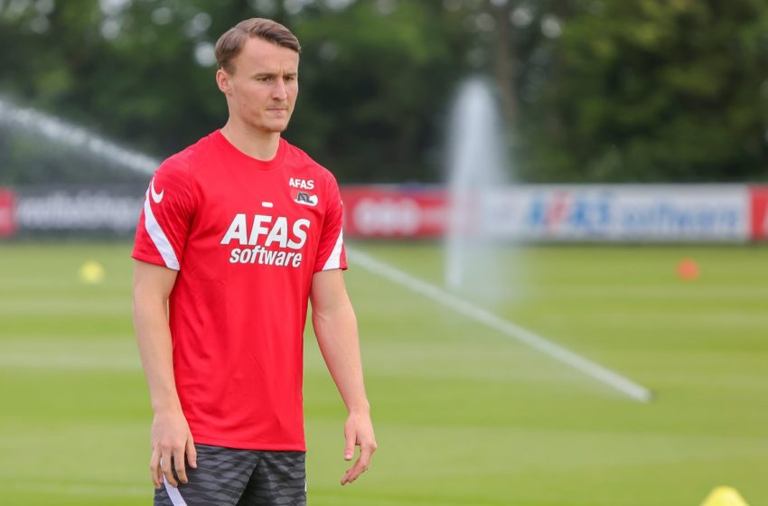 Peer Koopmeiners renova contrato com o AZ Alkmaar
