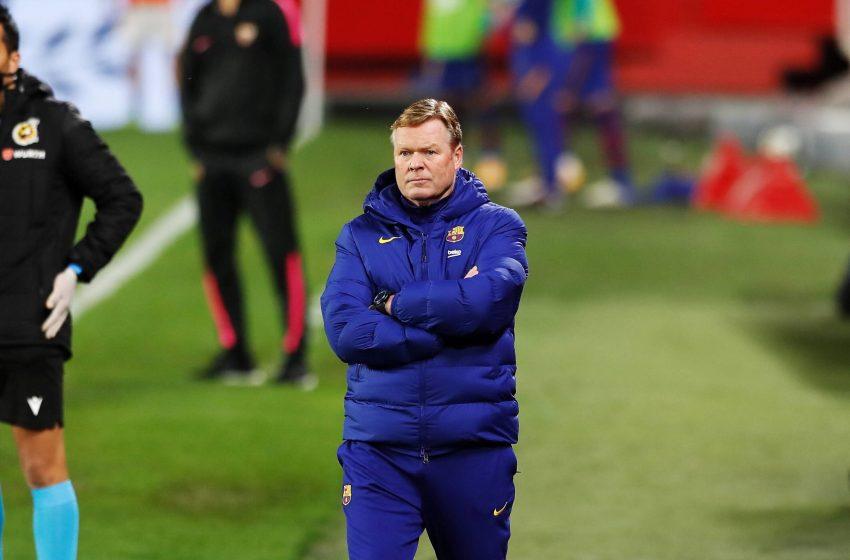 Ronald Koeman continua como treinador do FC Barcelona