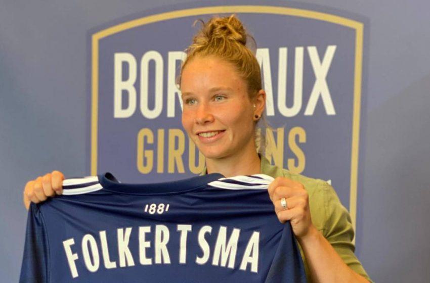 Sisca Folkertsma deixa o FC Twente e assina com o Bordeaux